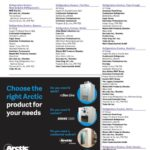 Choose the right Arctic product for your needs