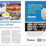 USTA Louis Armstrong Stadium in New York Chose Arctic